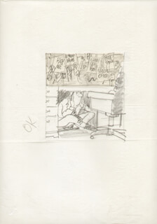 GLENN DODDS - ORIGINAL ART UNSIGNED