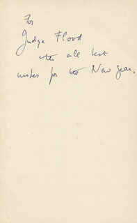 DAME EDITH SITWELL - BOOK UNSIGNED CIRCA 1960