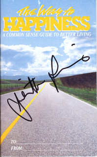 JULIETTE LEWIS - BOOK SIGNED CIRCA 1989