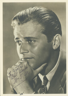 WILLIAM T. ORR - AUTOGRAPHED INSCRIBED PHOTOGRAPH 1941