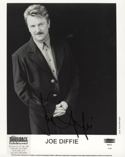 JOE DIFFIE - PRINTED PHOTOGRAPH SIGNED IN INK