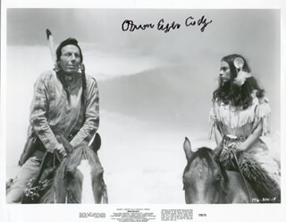 IRON EYES CODY - AUTOGRAPHED SIGNED PHOTOGRAPH