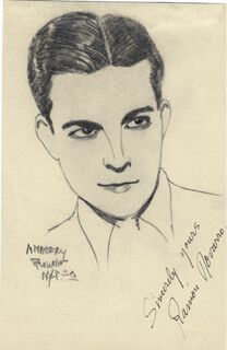 RAMON NOVARRO - ORIGINAL ART SIGNED