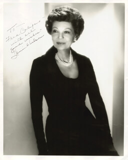 HARRIET HILLIARD NELSON - AUTOGRAPHED INSCRIBED PHOTOGRAPH