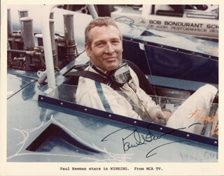 Autographs: PAUL NEWMAN - PHOTOGRAPH SIGNED