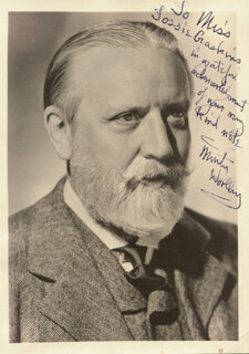 MONTY THE BEARD WOOLLEY - AUTOGRAPHED INSCRIBED PHOTOGRAPH