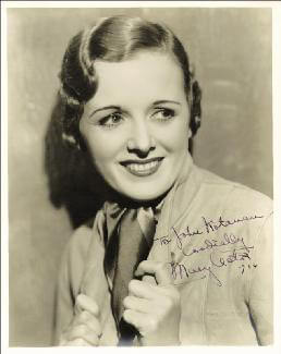 MARY ASTOR - AUTOGRAPHED INSCRIBED PHOTOGRAPH 1934