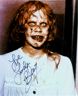 LINDA BLAIR - AUTOGRAPHED SIGNED PHOTOGRAPH