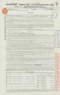 CHICO (LEONARD) MARX - CONTRACT SIGNED 06/06/1949