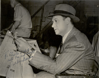 HARRY EINSTEIN - AUTOGRAPHED INSCRIBED PHOTOGRAPH 1937