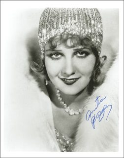 ANITA PAGE - AUTOGRAPHED SIGNED PHOTOGRAPH
