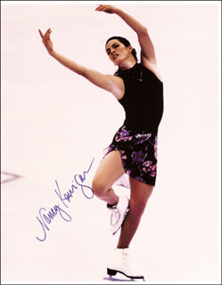 NANCY KERRIGAN - AUTOGRAPHED SIGNED PHOTOGRAPH