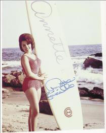 ANNETTE FUNICELLO - AUTOGRAPHED SIGNED PHOTOGRAPH