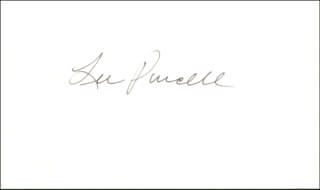 LEE PURCELL - AUTOGRAPH