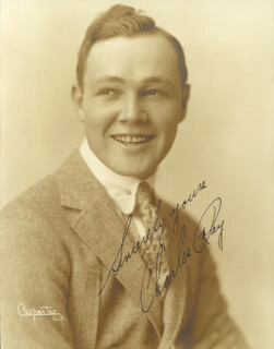 CHARLES RAY - AUTOGRAPHED SIGNED PHOTOGRAPH