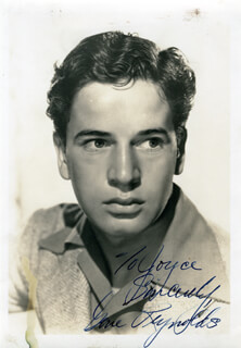 GENE REYNOLDS - AUTOGRAPHED INSCRIBED PHOTOGRAPH