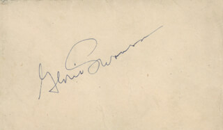 GLORIA SWANSON - ENVELOPE SIGNED