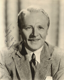 CHARLIE RUGGLES - AUTOGRAPHED INSCRIBED PHOTOGRAPH 1942