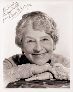 MAY ROBSON - AUTOGRAPHED INSCRIBED PHOTOGRAPH 1933