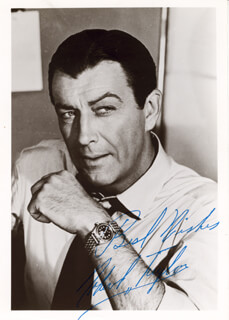 ROBERT TAYLOR - AUTOGRAPHED SIGNED PHOTOGRAPH
