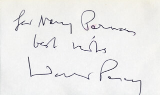 WALKER PERCY - AUTOGRAPH NOTE SIGNED