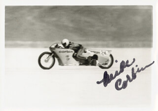 MIKE CORBIN - AUTOGRAPHED SIGNED PHOTOGRAPH