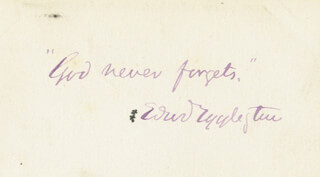 EDWARD EGGLESTON - AUTOGRAPH QUOTATION SIGNED