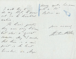 Autographs: PRINCE CHRISTIAN OF SCHLESWIG-HOLSTEN (DENMARK) - AUTOGRAPH LETTER SIGNED 03/07/1902