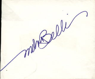 Autographs: MELVIN THE KING OF TORTS BELLI - SIGNATURE(S)