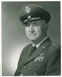 GENERAL MARK E. BRADLEY - AUTOGRAPHED SIGNED PHOTOGRAPH