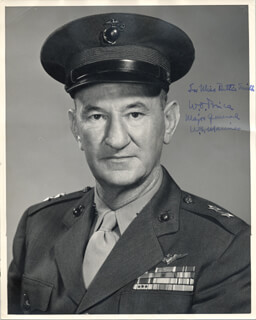 Autographs: GENERAL WILLIAM O. BRICE - INSCRIBED PHOTOGRAPH SIGNED