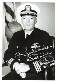 LLOYD M. BUCHER - AUTOGRAPHED INSCRIBED PHOTOGRAPH
