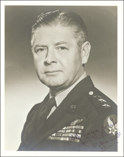 Autographs: GENERAL BENJAMIN W. CHIDLAW - PHOTOGRAPH SIGNED
