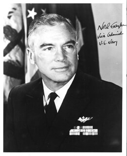 ADMIRAL NOEL A. M. GAYLER - AUTOGRAPHED SIGNED PHOTOGRAPH