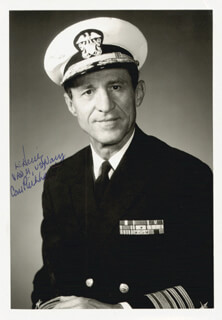 VICE ADMIRAL LUTHER C. HEINZ - AUTOGRAPHED SIGNED PHOTOGRAPH