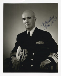 VICE ADMIRAL JAMES A. HIRSHFIELD - AUTOGRAPHED SIGNED PHOTOGRAPH
