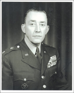 MAJOR GENERAL LAWRENCE C. JAYNES - AUTOGRAPHED SIGNED PHOTOGRAPH 04/29/1954
