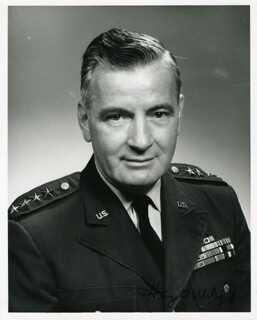 GENERAL HENRY A. MILEY JR. - AUTOGRAPHED SIGNED PHOTOGRAPH