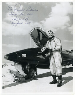 MAJOR GENERAL ROBERT MICHAEL WHITE - AUTOGRAPHED INSCRIBED PHOTOGRAPH