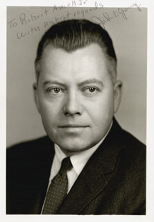 JOHN D. YOUNG - AUTOGRAPHED INSCRIBED PHOTOGRAPH