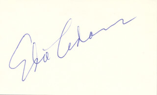 Autographs: EDIE ADAMS - SIGNATURE(S)