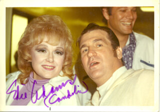 EDIE ADAMS - AUTOGRAPHED SIGNED PHOTOGRAPH