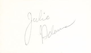JULIE ADAMS - AUTOGRAPH