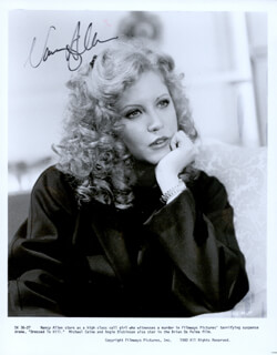 NANCY ALLEN - AUTOGRAPHED SIGNED PHOTOGRAPH