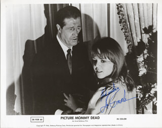 DON AMECHE - AUTOGRAPHED SIGNED PHOTOGRAPH CIRCA 1966  - HFSID 24601