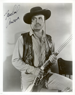 MICHAEL ANSARA - AUTOGRAPHED SIGNED PHOTOGRAPH