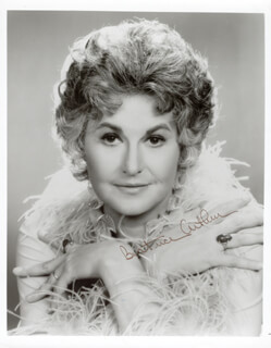 BEATRICE BEA ARTHUR - AUTOGRAPHED SIGNED PHOTOGRAPH