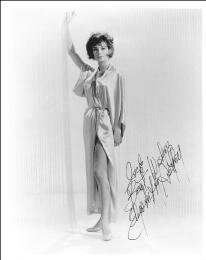 ELIZABETH ASHLEY - AUTOGRAPHED INSCRIBED PHOTOGRAPH