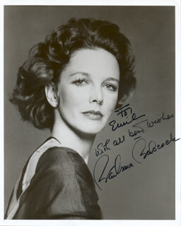 BARBARA BABCOCK - AUTOGRAPHED INSCRIBED PHOTOGRAPH