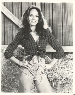 CATHERINE BACH - AUTOGRAPHED SIGNED PHOTOGRAPH